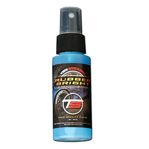 Tire Stickers - Rubber Bright Decal Cleaner - Keep Your Tire Lettering Clean - 8oz