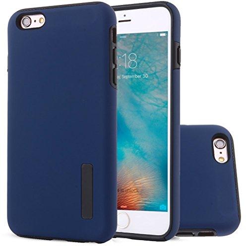 "HICASER iPhone 6S Hülle, Hybrid Dual Layer Case [Shock Proof] Drop Resistance TPU +PC Handytasche Schutzhülle für iPhone 6 6S 4.7"" Blau"