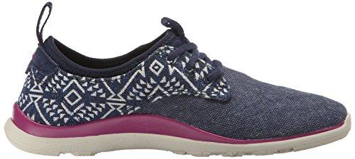 Zapatillas Shakra Para Mujer Cushe Azul Marino / Azteca