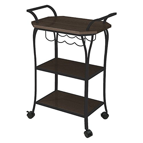 Better Homes and Gardens Kitchen Cart with Wine Rack by Better Homes & Gardens