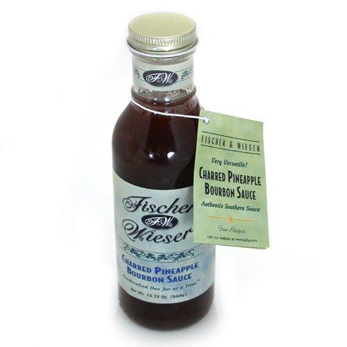 (Fischer & Wieser Specialty Foods Charred Bourbon Sauce, Pineapple, 15.75 Ounce)