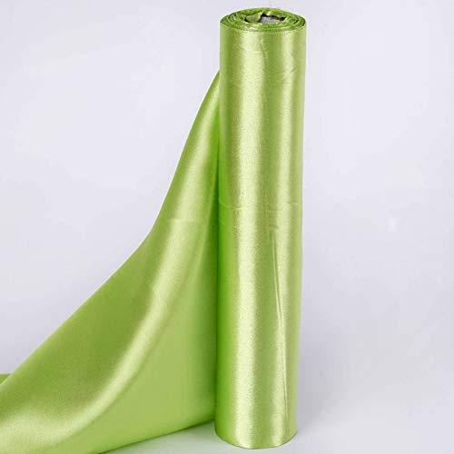 (Mikash 12 x 30 feet Satin Fabric DIY Wedding Party Decorations Crafts Sewing Supplies   Model WDDNGDCRTN - 5522  )