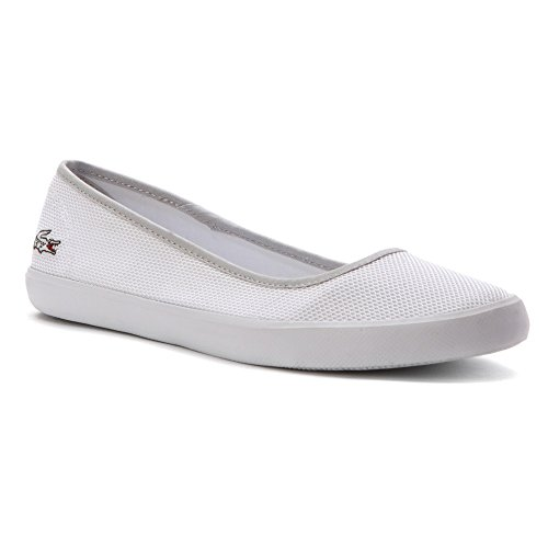 Lacoste Womens Canvas Donna Bianco Slip On White