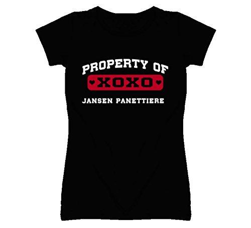 Jansen Panettiere Property of I Love T Shirt M Black
