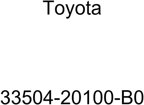 TOYOTA Genuine 33504-20100-B1 Shift Lever Knob Sub Assembly