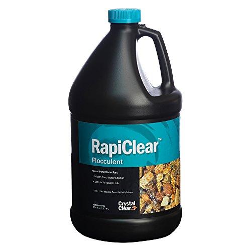 (CrystalClear CC063-1G Rapiclear Pond Flocculent, 1-Gallon)