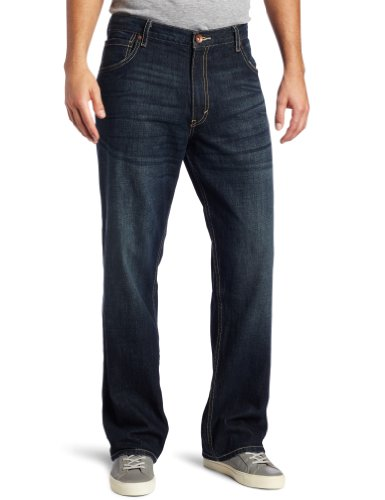 Amazon.com: Levi's Men's Silver Tab Baggy Jean Dark Lake 42x36