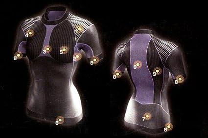 Crivit Sports Damen Funktionsshirt Funktionsunterhemd Trekkingshirt Laufshirt