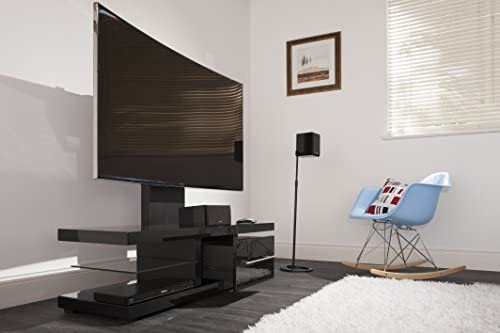 For Screens up to 60- Samsung Pian Sony LG Techlink Echo TV Stand // TV Unit // TV Furniture Cabinet for Living Room Panasonic /& More with a pull out drawer for storage and incorporated Mounting Bracket providing a quick and simple on the wall look