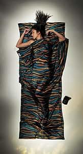 Cocoon Silk TravelSheet (Afr Rainbow, 86-Inch x 35-Inch)