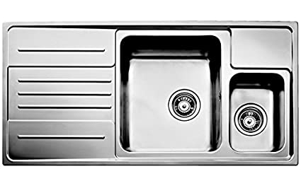 Brilliant Teka 30000675 Stainless Steel Inset Kitchen Sink 1 1 2 Download Free Architecture Designs Scobabritishbridgeorg