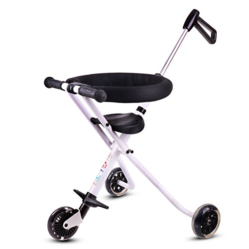 YBL Baby Stroller Simple cart for children Three wheeled cart Aluminum alloy folding baby carriage Light weight Can fly by plane Suitable for 3-8 year old by YBL