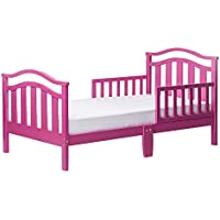 Dream On Me Elora Collection Toddler Bed, Fuschia Pink,