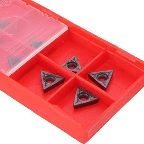 10Pcs TCMT 731 Carbide Insert C6 Grade Fit 1//4 5//16/'/' Turning Tools 2mm 10mm