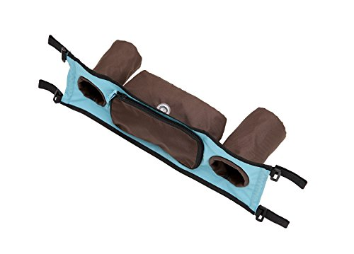Croozer Handlebar Console for Kid Plus for 2 Bike Trailers Sky Blue