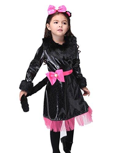 C.X Trendy Halloween Costume Little Girls Sassy Cat