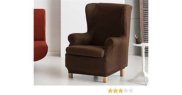 Lanovenanube Eysa - Funda sillón Ulises Orejero 1 Plaza Color Gris C06