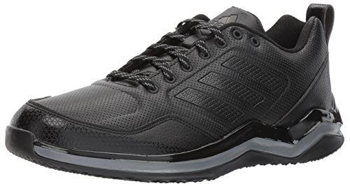 (adidas Men's Freak X Carbon Mid Cross Trainer, Black/Iron, 9.5 Medium US)