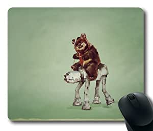 "Illustration Star Wars Buddies Oblong Mouse Pads/ Standard Rectangle Gaming Mousepad in 9""*7 by icecream design"