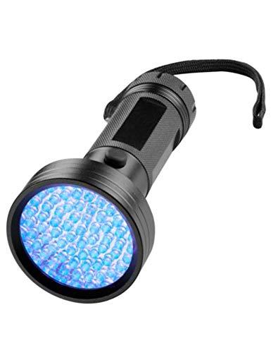 GS Tools 68 LED UV Flashlight Blacklight, Engineering Grade LED 395 Nanometer Wavelength Ultraviolet Detector, Home & Hotel Inspection for Dog/Cat Urine, Dry Stains, Bed Bug ()