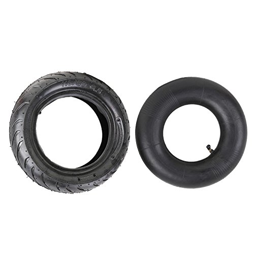 Tire Bike Pocket (DELUXEMOTO (TM 110/50-6.5 Water Tread Tire + Tube fo 47cc, 49cc Mini Pocket Dirt Pit Bike MTA1 MTA2 MTA4)