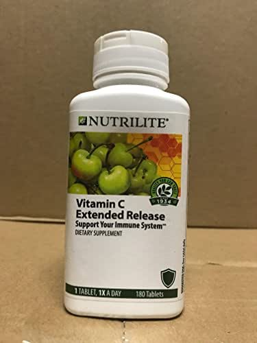 NUTRILITE Vitamin C Plus Extended Release 180 Tablets