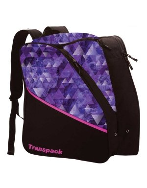 Transpack Edge Junior Ski Boot Bag 2018 - Purple Topo