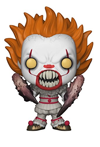 Funko Pop Movies  It Pennywise  Crab Legs  Collectible Figure  Multicolor