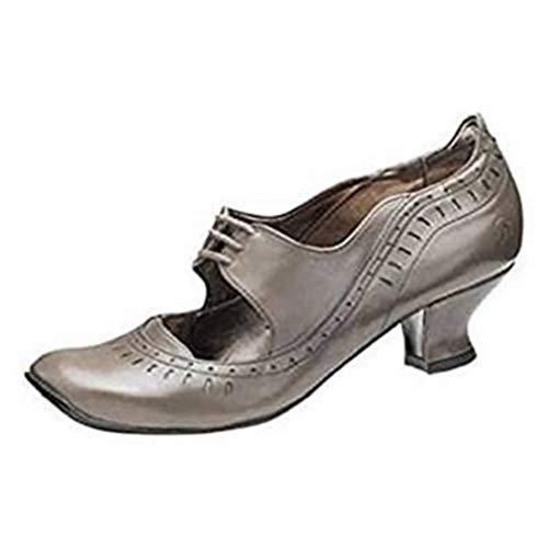 À Bronx Bronx De Chaussures Gris Lacets Pour Ville Femme 4C6FBqw