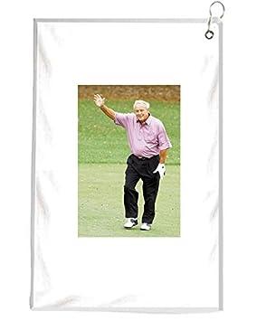 Arnold Palmer de despedida a la Masters - Toalla de Golf golfistas accesorios herramienta de limpieza: Amazon.es: Deportes y aire libre