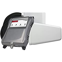 weBoost Connect 4G-X Cell Phone Signal Booster for Home and Office – Enhance Your Signal up to 32x. Can Cover up to 7500 sq ft or Large Home. For Multiple Devices and Users.