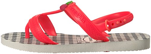 Pictures of Havaianas Kids Joy Spring Sandal White/Coral 5