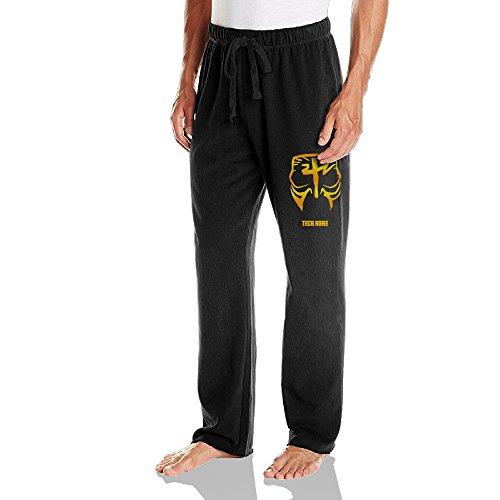 KPaIil Tech N9ne Face Paint Men Drawstring Jersey Sweatpants Black (Tech N9ne Jersey)
