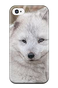 Cute Tpu Arctic Foxes Case Cover For Iphone 4/4s
