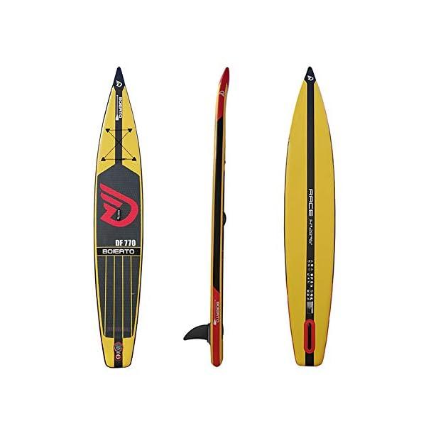 Kanqingqing-Sport Stand Up Paddel Gonfiabile Corsa all Round Gonfiabile SUP Stand Up Paddle Board con Regolabili Zaino… 2 spesavip