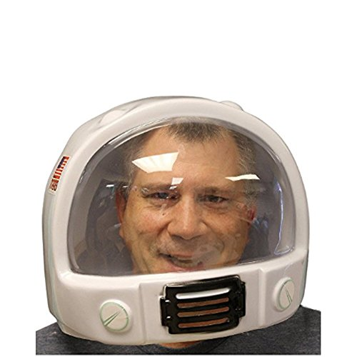 Plastic Astronaut Helmet (2 Parts Front and Back)