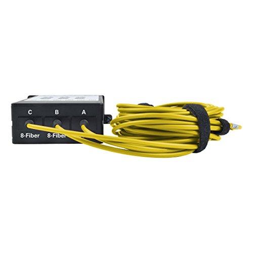 TRIPP LITE 8.3/125 40GB to 10GB Fiber Breakout Cassette x3 8-Fiber Singlemode MTP/MPO to x12 LC Duplex (N482-3M8L12S-B) by Tripp Lite (Image #4)
