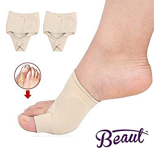 Bunion Corrector - Bunion Toe Straightener and Bunion Relief Detox Sleeve Bunion Pad with EuroNatural Gel - Orthopedic Bunion Corrector and Metatarsal Pad for Hammertoe and Hallux Valgus (Small) Photo #4