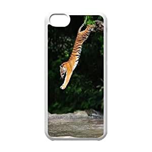 High quality Cute animal tiger protective case cover For Iphone 5cU-IEU-S4734