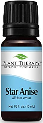 Plant Therapy Star Anise Essential Oil. 100% Pure, Undiluted, Therapeutic Grade. 10 ml (1/3 oz). by Plant Therapy Essential Oils