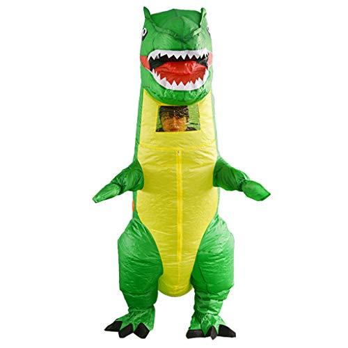 Sagton Costume Inflatable Dinosaur Suit Inflatable Dinosaur Costume | Inflatable Costumes Adults| Halloween Costume | Blow Up Costume