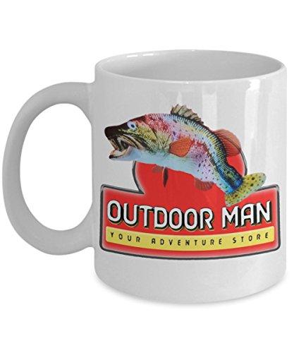 Outdoor Man Your Adventure Store Break Room Inspired Coffee 11 oz.Mug.White Mug TV Show