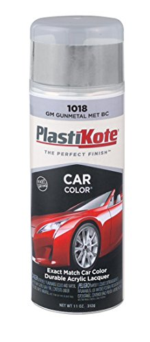 PlastiKote 1018 GM Gunmetal Metallic Base Coat Automotive Touch-Up Paint - 11 oz. (Tahoe Coat)
