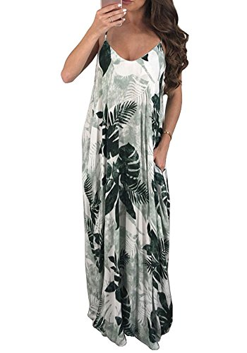 Green Dye Loose Oversized Beachdress Women's Neck Strap Beach Bodycon4U Spaghetti Dress Tie V Maxi Oz8P64Pq