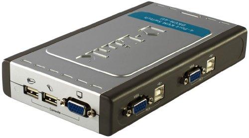 D-Link DKVM-4U 4-Port USB KVM Switch