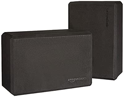 AmazonBasics Yoga Blocks, Set of 2 by AmazonBasics