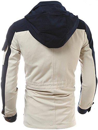 Cappotto Tendenza Vento 9568 Jeansian Caldo Giacca Sottile Cappotti Beige A Moda Capispalla ZqAAgnF0