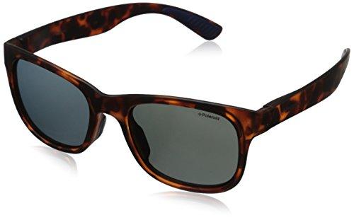 Polaroid Sunglasses PLD3005S Polarized Wayfarer Sunglasses, Havana & Gray Polarized, 51 - Color Sunglasses Havana
