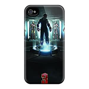 Anti-scratch And Shatterproof Iron Man 3 Poster Phone Case For iPhone 5 5s/ High Quality Tpu Case
