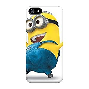 Durable Cell-phone Hard Cover For Iphone 5/5s With Customized HD Minion Skin ErleneRobinson